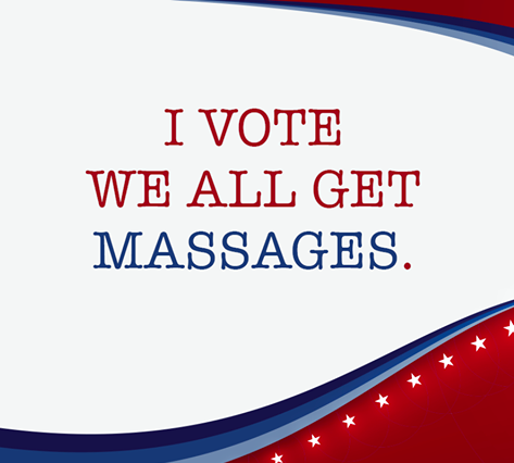 We Voted for Massage